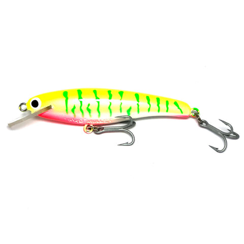 "Mad Mullet 4"" Shallow - Lime Tiger"