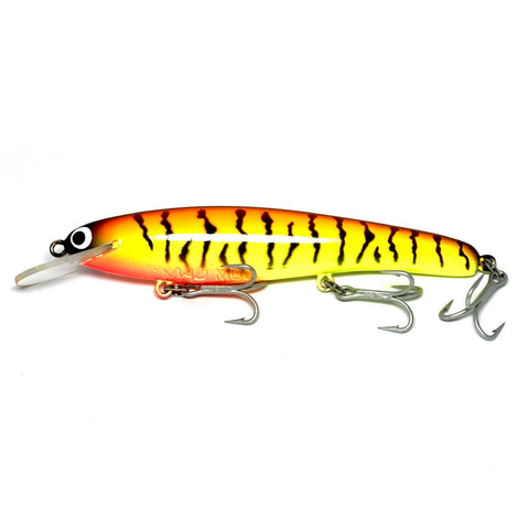 "Mad Mullet 6"" Shallow - Fire Tiger"