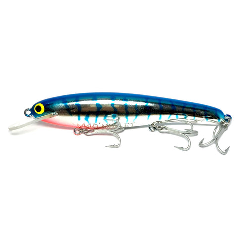 "Mad Mullet 6"" Shallow - Blue / Silver"