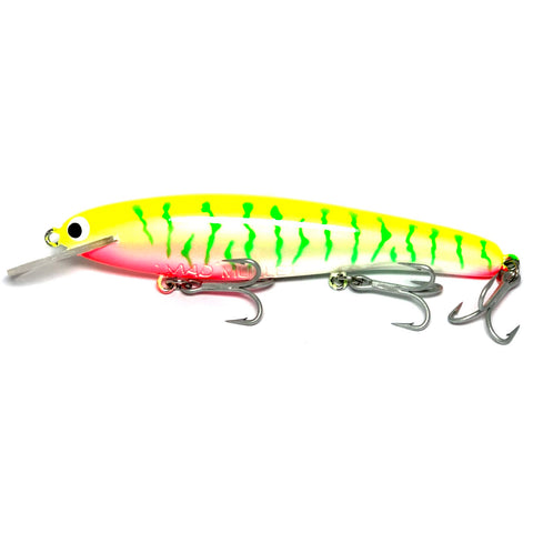 "Mad Mullet 6"" Shallow - Lime Tiger"