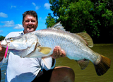 "Mad Mullet 3"" Deep - Pink / Yellow Barra"
