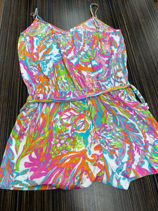 Lilly Pulitzer Romper Size L (12 14)