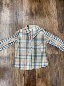 Burberry Long Sleeve T Shirt Size S (4 6)