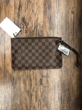 Load image into Gallery viewer, Louis Vuitton Leather Wristlet