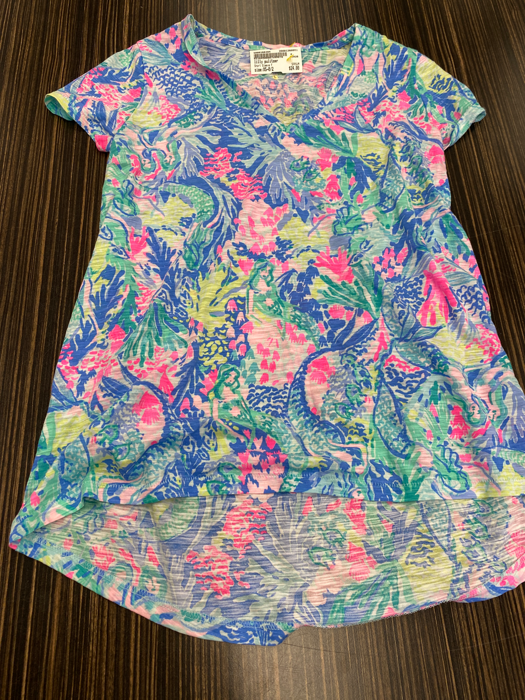 Lilly Pulitzer Short Sleeve Size Xs (0 2)