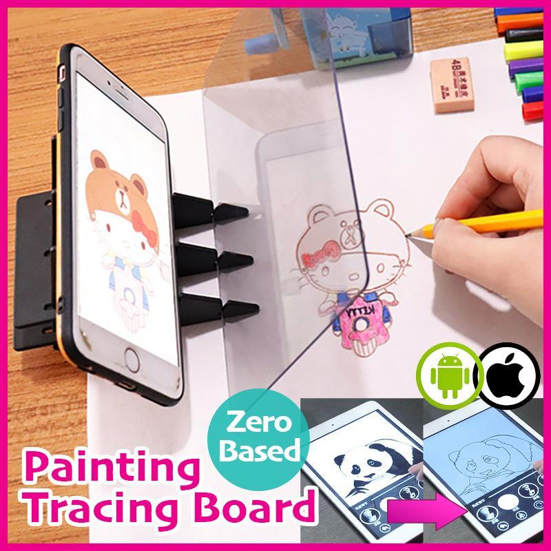 Zero-Based Painting Tracing Board (iOS & Android Compatible)