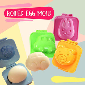 Boiled Egg and Rice Mold - 6pcs
