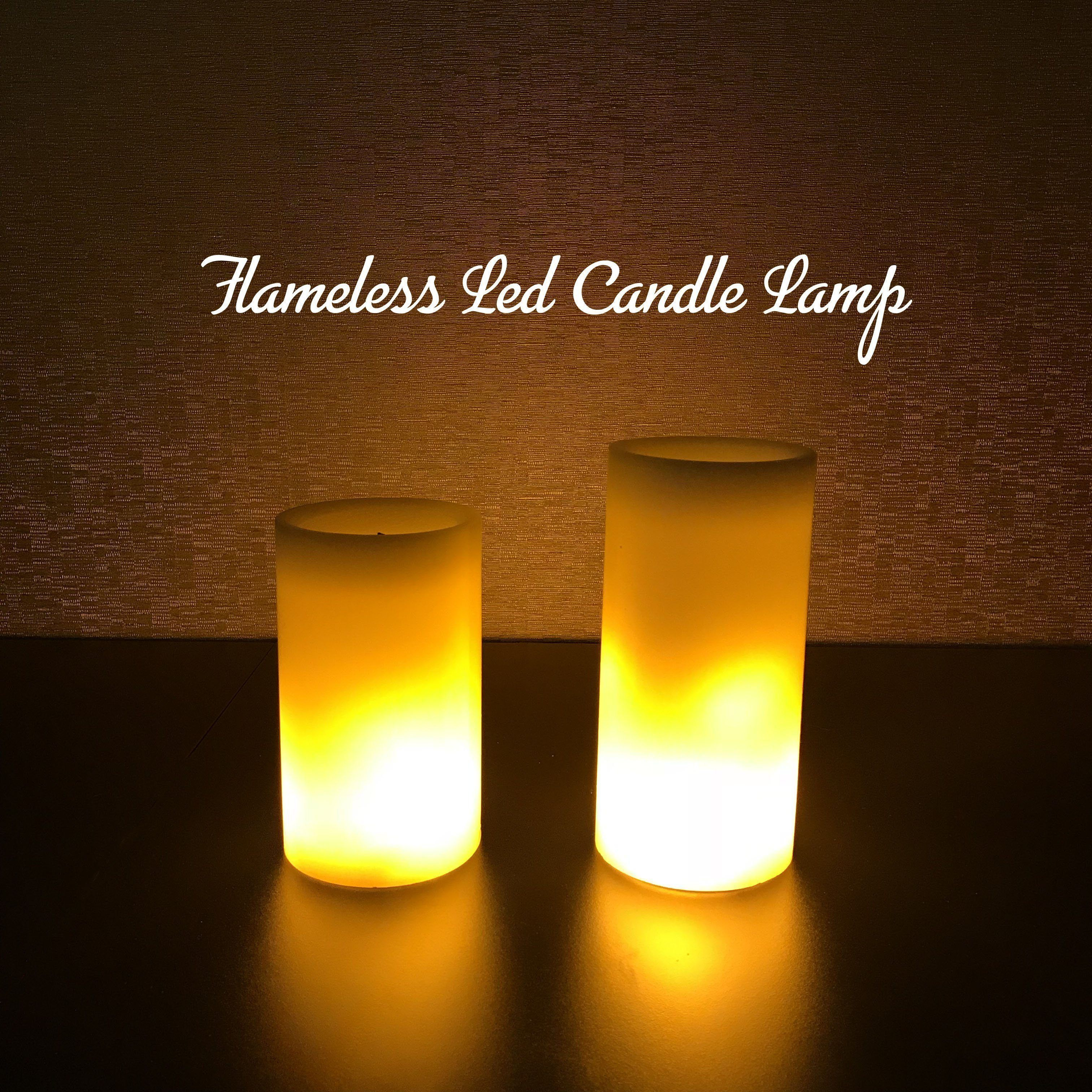 Flameless LED Candle Lamp