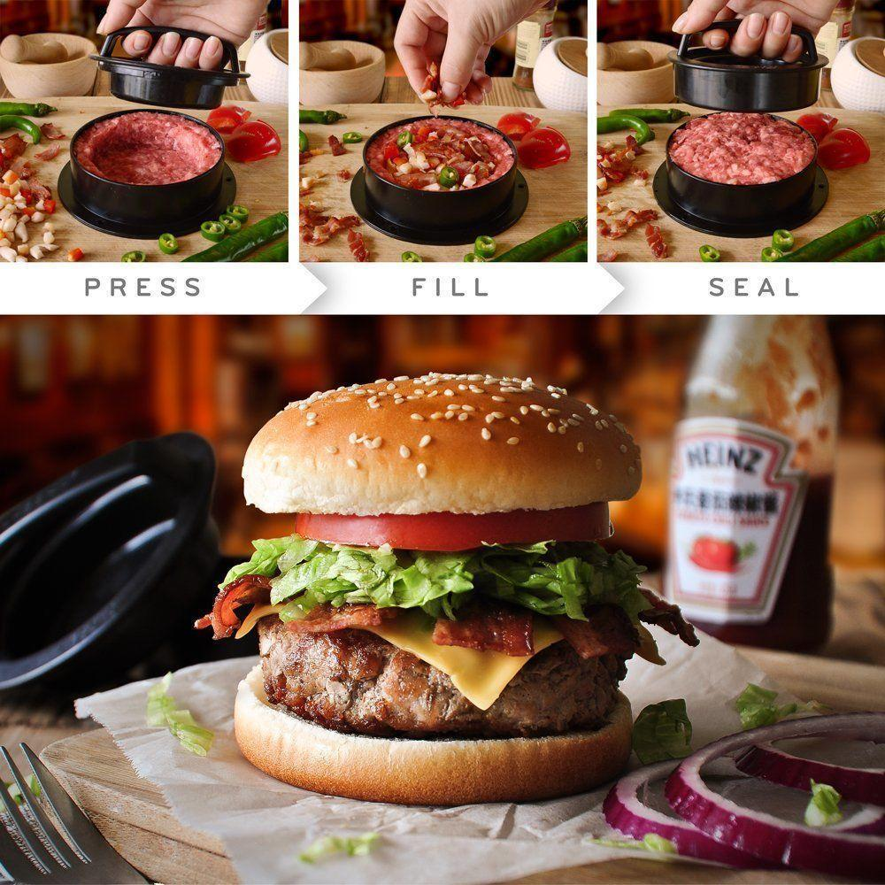 Perfect Non-Stick Burger Staffed Patties Press Kit
