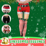 3D Christmas Leggings