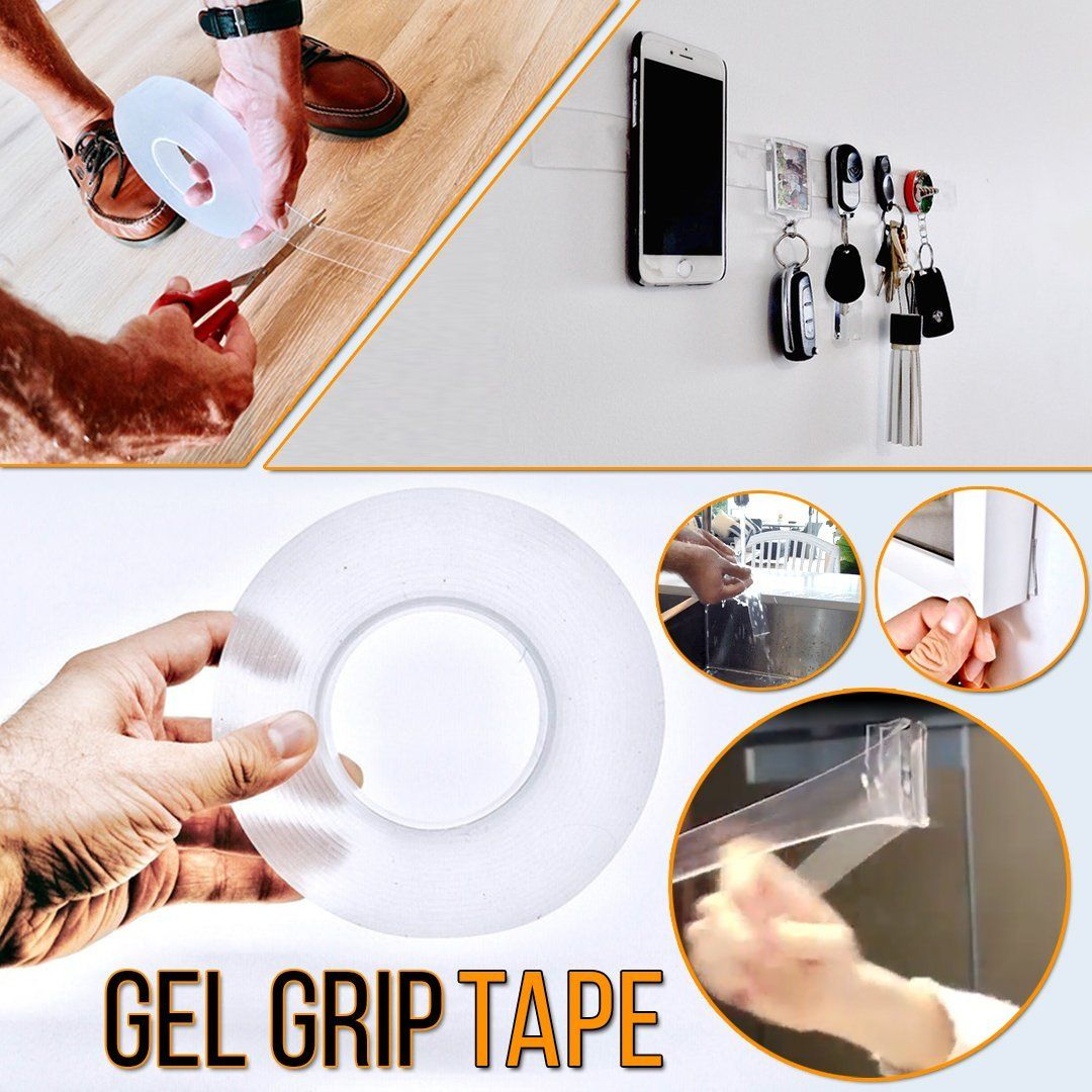 Reusable Gel Grip Tape