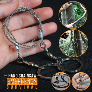 Hand Pocket Stainless Steel Chainsaw - 2pcs/4pcs Set