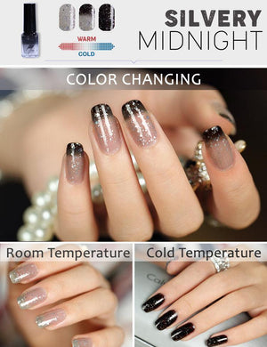 Double-Tone Thermochromic Nail Polish