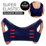 Plus Size Breathable Sports Bra (L to 6XL)