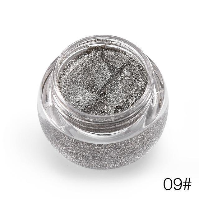 Glitter Metallic Eye Shadow Gel