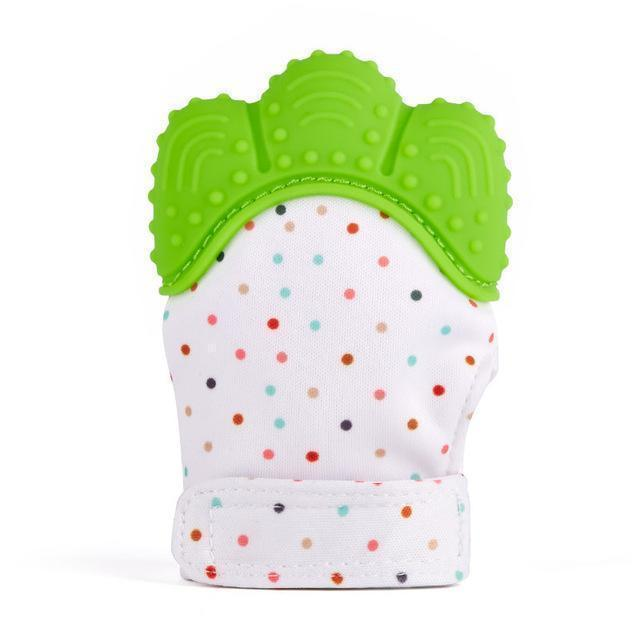 Silicone Teething Baby Mitt