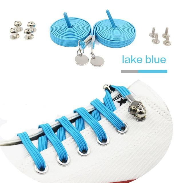 Quick & Easy No-Tie Elastic Shoelaces