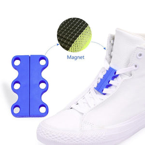 No Tie Magnetic Buckle Shoelaces - 1 Pair