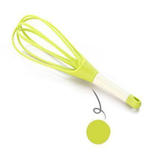 CHEFVANA 2-in-1 Foldable Twist Whisk