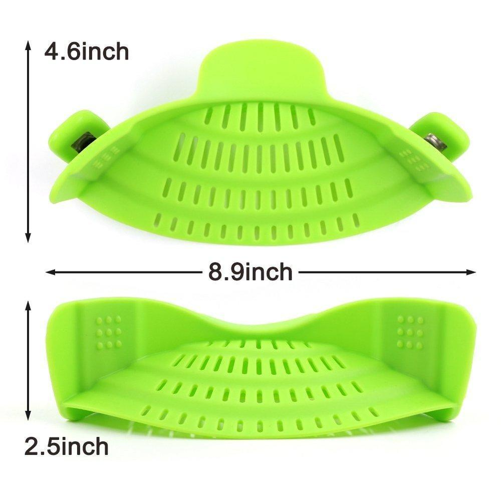 Universal Clip On Cooking Strainer and Colander