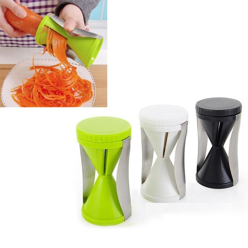 INSTCHEF Spiral Vegetable Funnel Grater - 2pcs Set