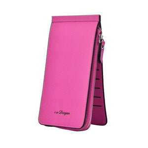 Women's Long 26-Card and Phone Holder Wallet