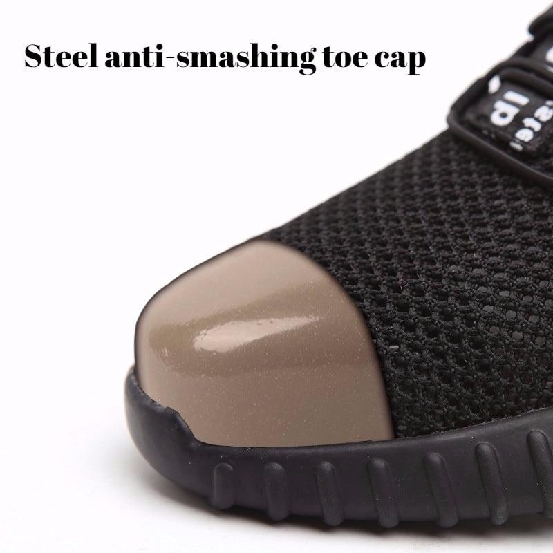 Men's Stylish Safety Work Shoes