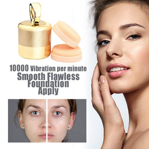 Premium 3D Vibrating Makeup Powder Puff