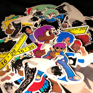 hip hop stickers