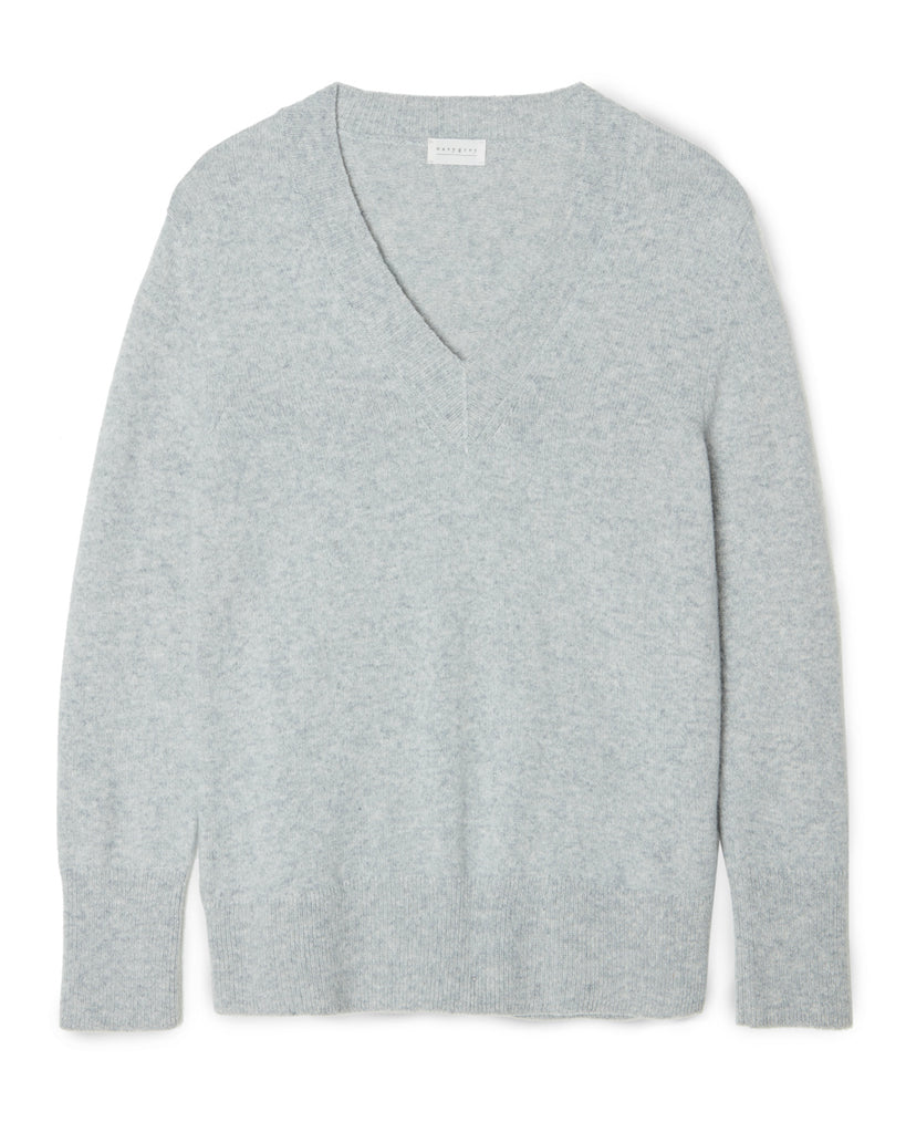 The V NECK - Grey