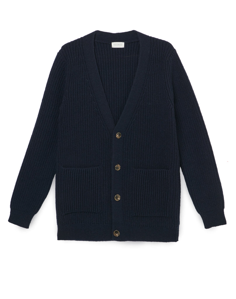 The HEIRLOOM CARDIGAN - Navy