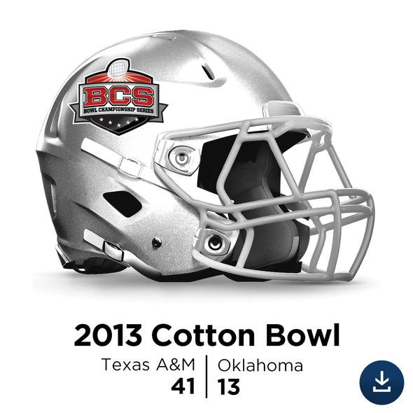 2013 Cotton Bowl: Texas A&M vs Oklahoma - Full-Length HD Video Download