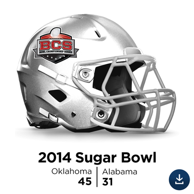 2014 Sugar Bowl: Oklahoma vs Alabama - Full-Length SD Video Download