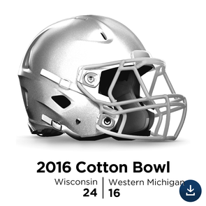2017 Cotton Bowl: Wisconsin vs Western Michigan - Full-Length HD Video Download