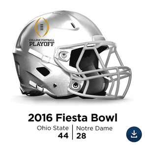 2016 Fiesta Bowl (January): Ohio State vs Notre Dame - Full-Length HD Video Download