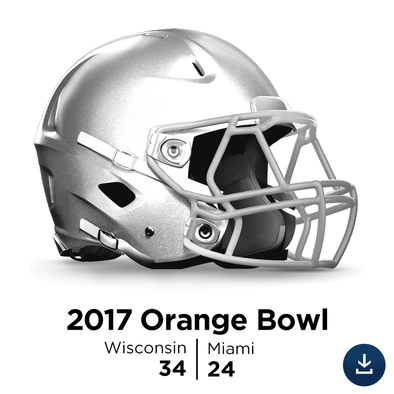 2017 Orange Bowl: Wisconsin vs Miami - Full-Length HD Video Download