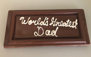 Milk Chocolate Bar - customized for recipient
