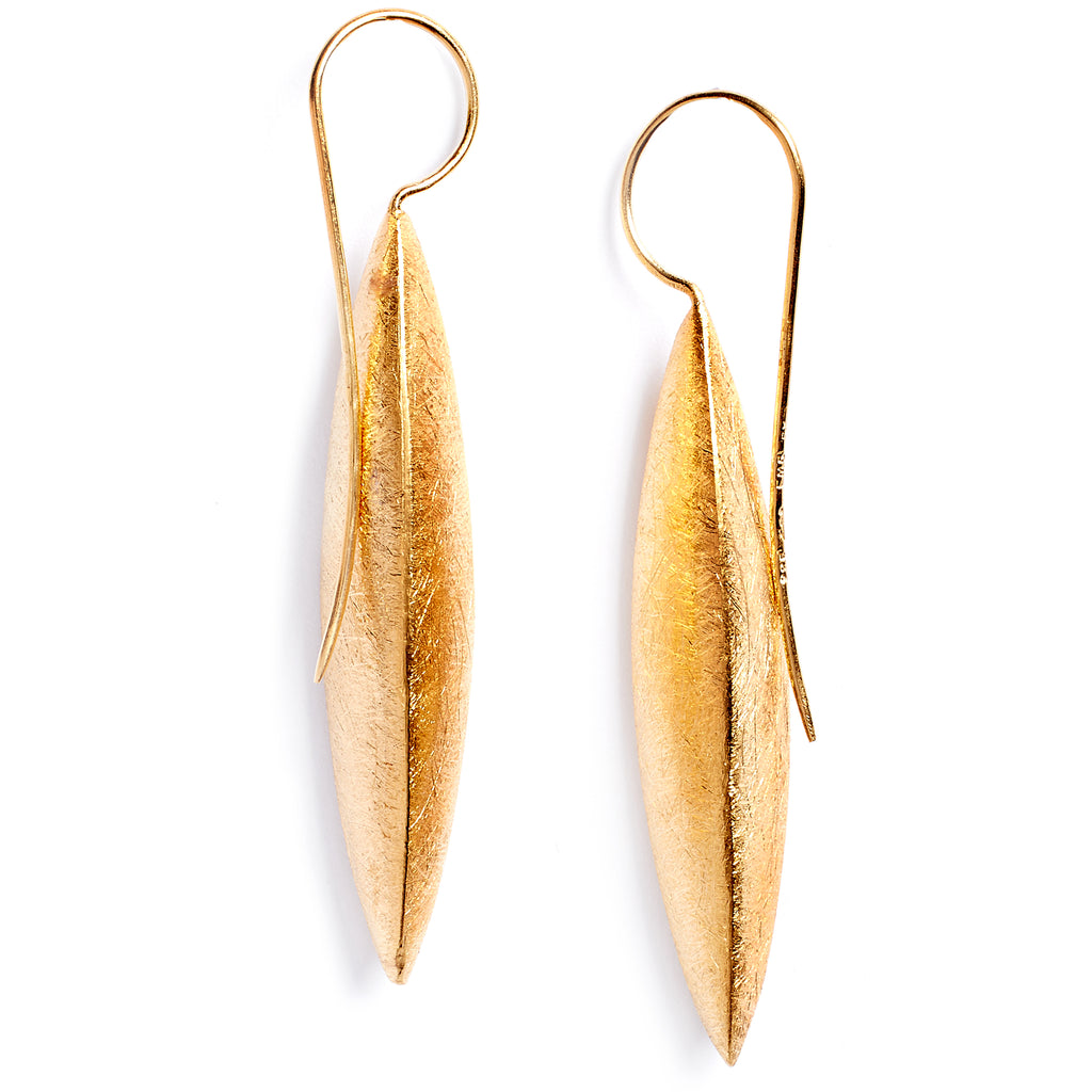 Sanded earrings