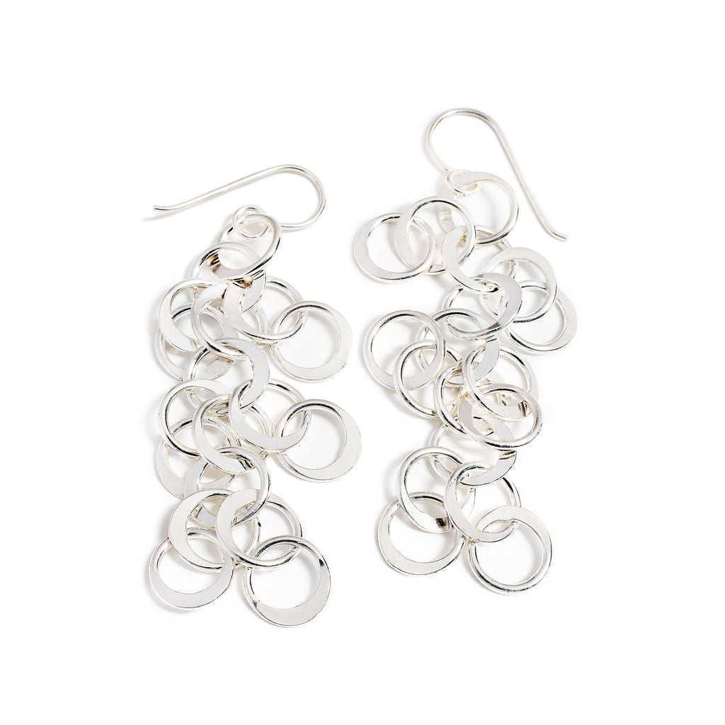 Multi-ring Style earrings