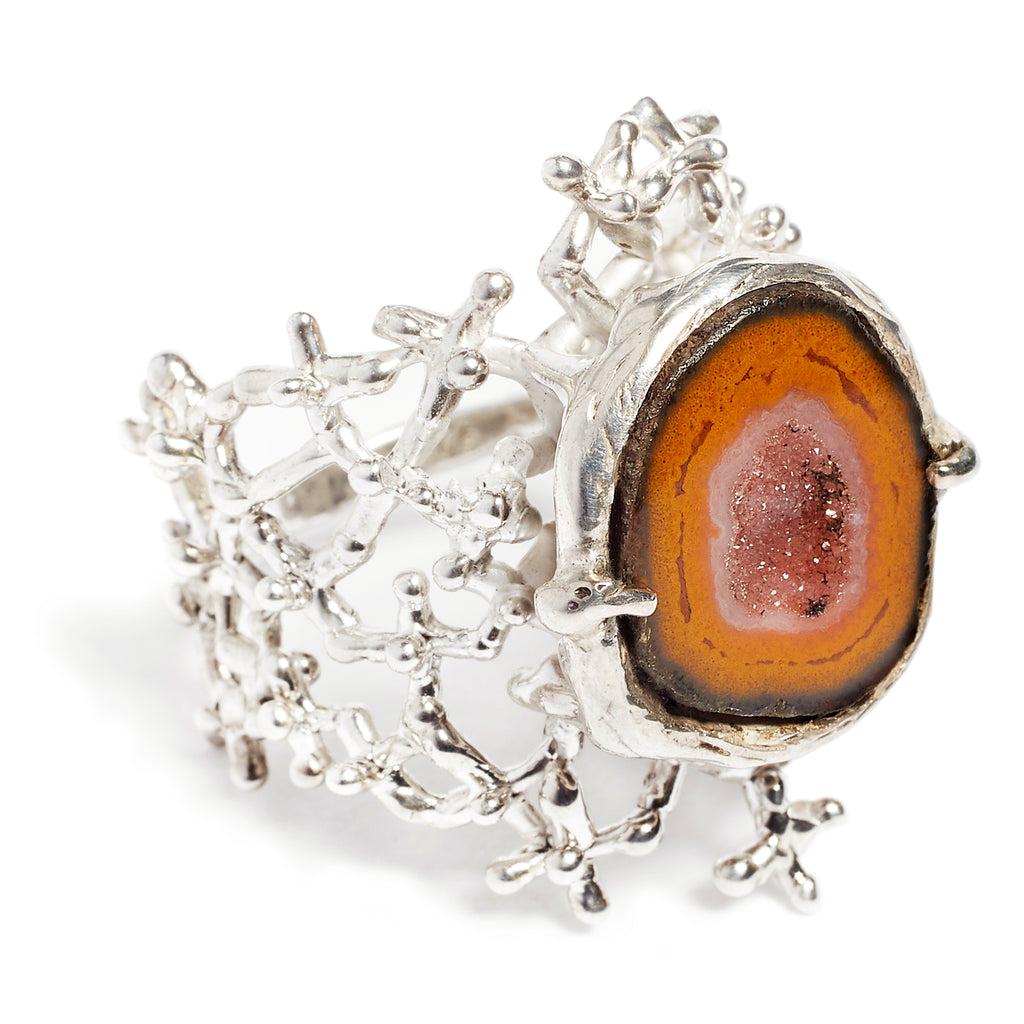 Tabasco Geode Ring