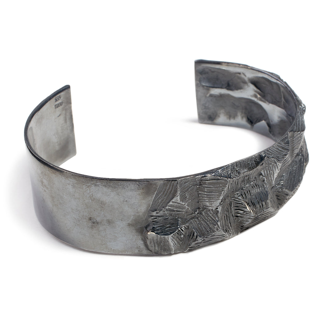 Chunky men's bangle