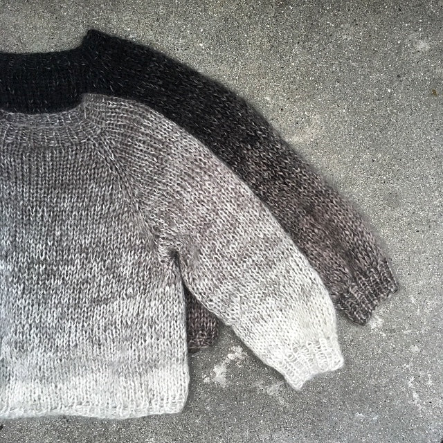 Kit for Color Rain Sweater - size M