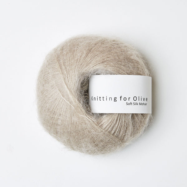 Knitting for Olive Soft Silk Mohair - Oat