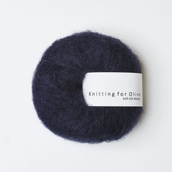 Knitting for Olive Soft Silk Mohair - Midnight Blue