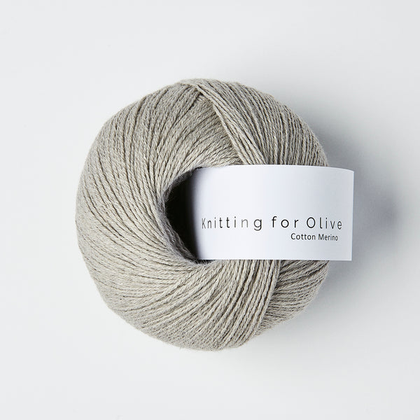 Knitting for Olive Cotton Merino - Gray Lamb