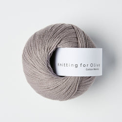 Knitting for Olive Cotton Merino - Purple Elephant