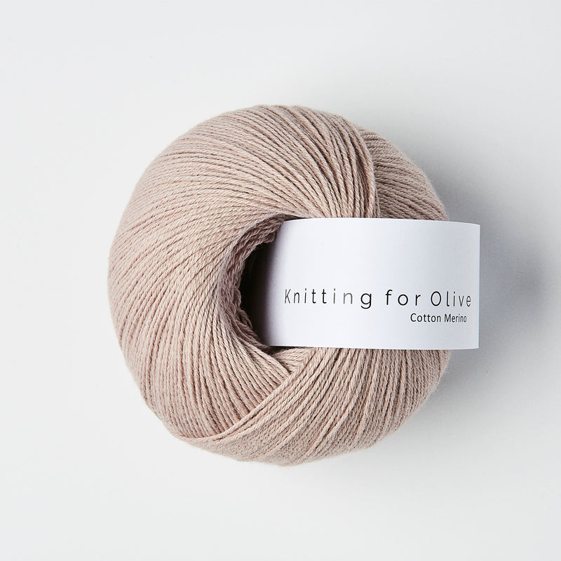 Knitting for Olive Cotton Merino - Rose Mouse