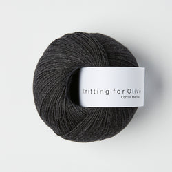 Knitting for Olive Cotton Merino - Slate Gray