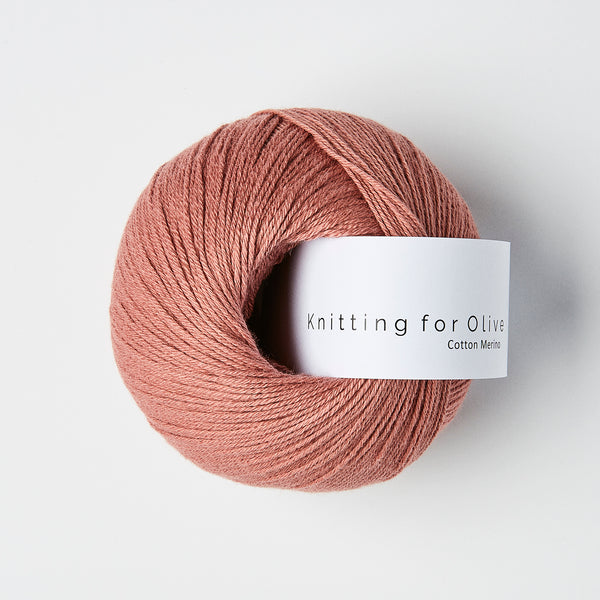 Knitting for Olive Cotton Merino - Terracotta Rose