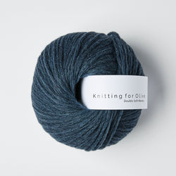 Knitting for Olive Double Soft Merino - Deep Petroleum Blue